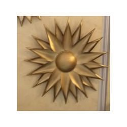 Sun Flower Metal Wall Art Large