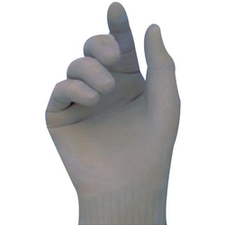 Rubber Examination Hand Gloves, For Hospital, Sizes: 6 Inches (Length)