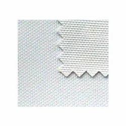 White Plain Polyester Cotton Canvas Fabric