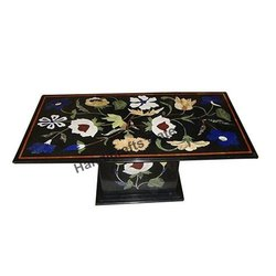 Beautiful Marble Inlaid Coffee Table
