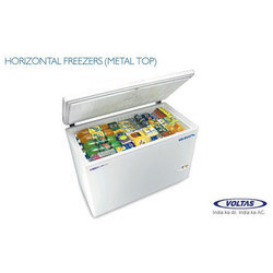Horizontal Freezer Metal Top