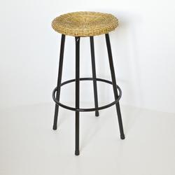 Wicker Sitting Stool