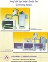 Double Door Table Type Shot Blasting Machine