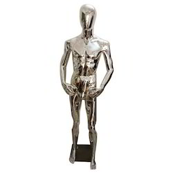 Electroplated Male Mannequin