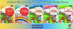 Oxford Pre-School Books for KG Class ( 5 Set of Books)