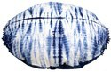Shibori Round Pillow Cover