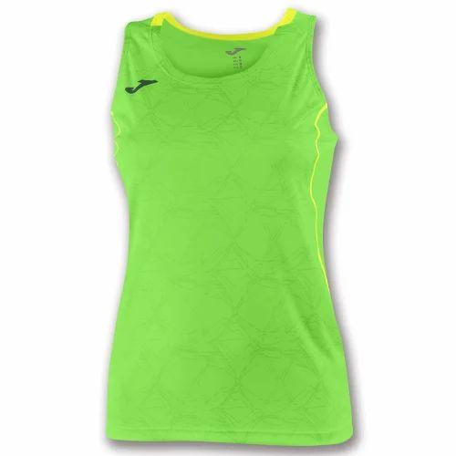 c31c9616be11a Lycra Cotton Ladies Sleeveless T Shirt