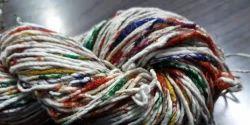 Recycle Sari Waste Pasting Yarn
