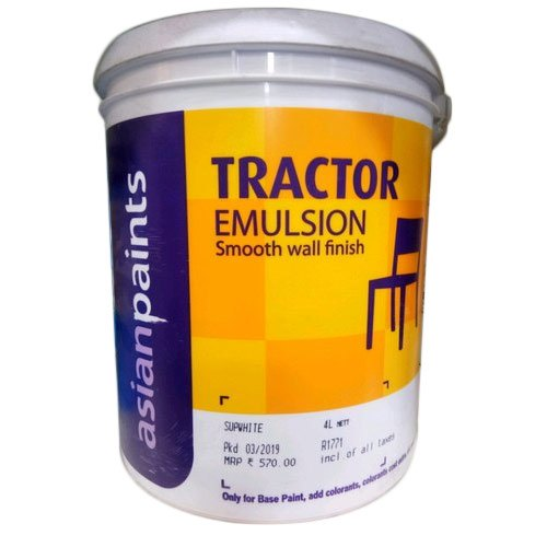 Asian Paints High Gloss Tractor Asian Paint, Packaging Size: 20 Liter, Packaging Type: Bucket