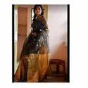 Handloom Matka Muslin Jamdani Saree