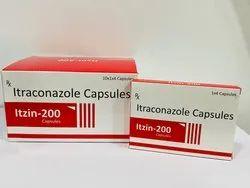 Itzin-200 Itraconazole Capsules