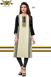 Regular Wear Crepe Kurti