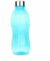 Blue Round 800 Ml Plastic Bottle, Screw Cap