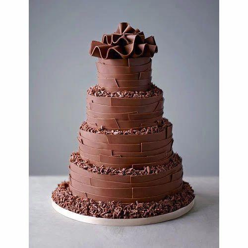Chocolate Wedding Cake Stock Photos - Image: 2562553