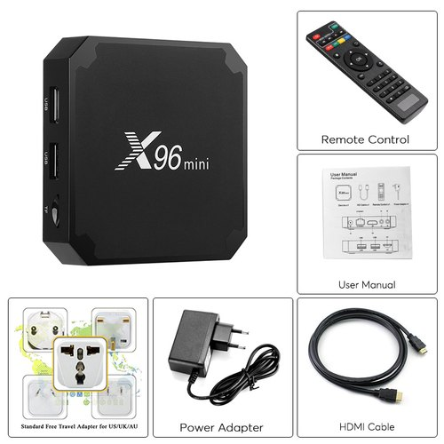 X96 Mini Android TV Box 1Gb 8Gb with Wifi