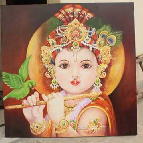 Baby Lord Krishna Paintings