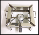Lpg Propane Commercial Gas Stove Cooktop Bhattha Stove, Square