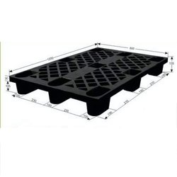 Black Nestable Plastic Pallet