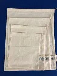 Folding Natural Organic Muslin Produce Bags