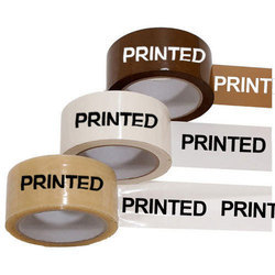 Printed BOPP Tapes for Packaging, Size: 1 inch