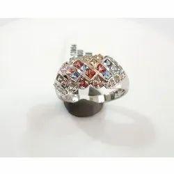 Designer Multi Sapphire Ring