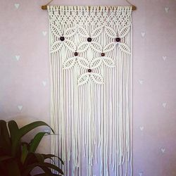 Romee Macrame Cotton Wall Hanging, For Decoration, Rs 450