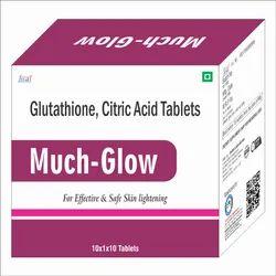 GLUTATHIONE 1GM   CITRIC ACID 250 MG