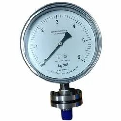 Stainless Steel Bourdon Sealed Diaphragm Pressure Gauge