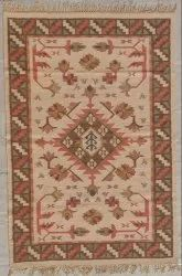 Brown Cotton Rugs, Size: 6x4 Feet