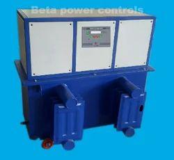 Three Phase Air Cooled 25kVA Servo Voltage Stabilizer, 360v - 480v