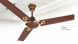 Elanza Pearl Brown Ceiling Fan