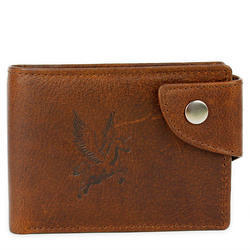 Bharat Exim International Brown Designer Leather Wallet 6b53ddeab