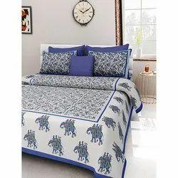 Dashing Look Jaipuri Printed Double Bedsheets