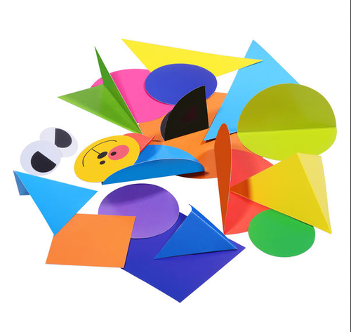 art and craft toys create with shapes and folds bachchone ke
