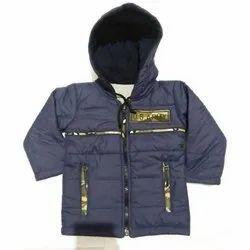 Full Sleeve Cotton Boys Reversible Jacket, Size: 20 to 30