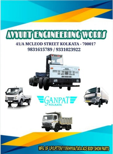 Commercial Vehicle Body Show Parts & Tata Ace Show Parts