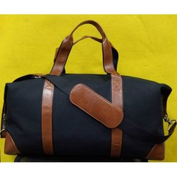 Canvas and leather Travel Bags, For Travelling Purpose