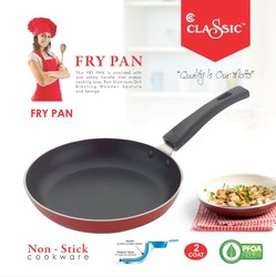Fry Pan Product Of India Non Stick Size 220 MM