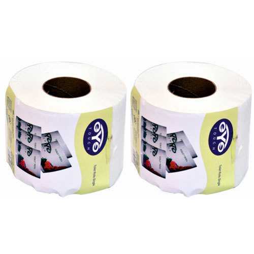 White Paper Toilet Roll