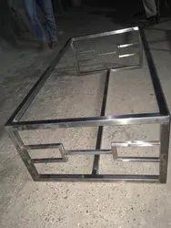 Metal Square Designer Center Table