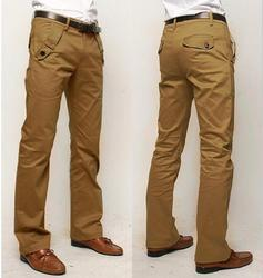 Polyester/Nylon All Size Mens Casual Trouser
