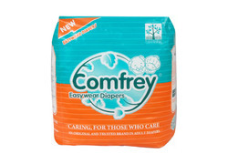Comfrey Pant Style Adult Diaper Xl For Waist Size 35-47