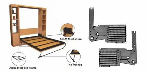 ALPHA Bed D I Y  Kit- Wallbed Mechanism at Rs 38500 /piece