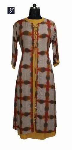 Ladies Cotton Jacket Kurti