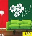 FLOWER PVC Wall Stencil