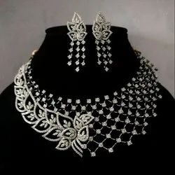 Diamod Necklace Set