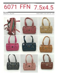 Hand Handled 8 Colors Ladies Mini Handbags, 100 Grams, Size: 7.5*4.5 Inches
