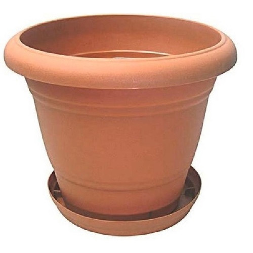 10 Inch Mud Flower Pot