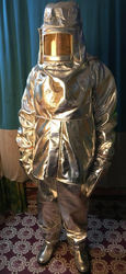 Aluminised Kevlar Fire Suit