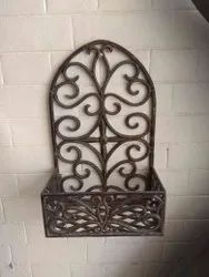 Antique Cast Iron Decorative Fireplace